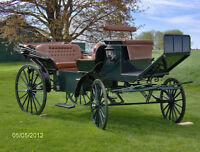 Beautiful Vis a Vis Carriage