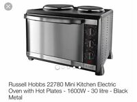 Russell Hobbs mini electric oven - new!!