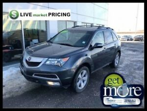 2013 Acura MDX 6sp at  - Sunroof -  Leather Seats