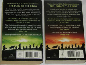 2 Lord of the Rings Novels London Ontario image 2