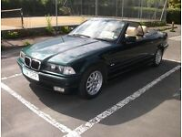 BMW 3 series convertible 328i 1999 STUNNING CAR