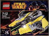 Lego 75038 Jedi Interceptor BNIB