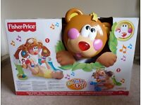 Fisher Price Kickin Bobbin Bear musical play Gym baby toy - excellent condition