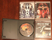 Army of 2, Soulcalibur IV, Zone of Enders, Bound by Flame PS3
