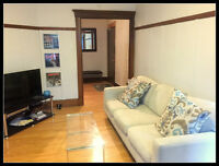 Executive Suite : 1 bedroom + alcove on Laurier Ouest- July 1