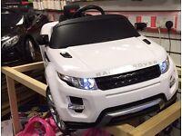 Officially Licensed: Range Rover Evoque, Self Drive, Parental Remote Control