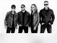 1x Metallica ticket