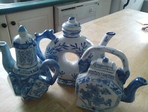 Set of three Japanese Tea pots Peterborough Peterborough Area image 1