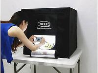 Professional Photography Studio Camera Photo Shooting Tent LED Light Room Soft Box 18V Power Adapter