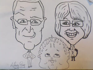 CARICATURE Artist Available for Parties and Events.. St. John's Newfoundland image 10