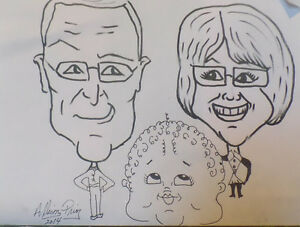 Learn how to draw Caricatures lessons St. John's Newfoundland image 5