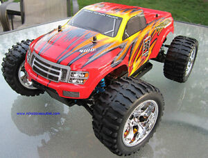 New RC Truck Brushless Electric  4WD LIPO 2.4G Kitchener / Waterloo Kitchener Area image 7