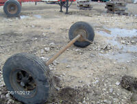 Trailer axles,  8-14.5 Tires