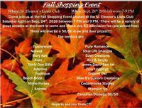 Fall shopping - Summerside