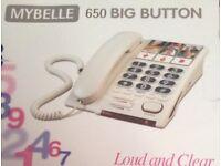 MYBELLE 650 Big Button telephone