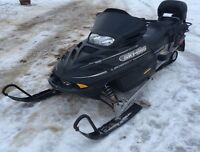 Very good family skidoo. Well maintained
