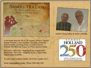 Samuel Holland - Work & Legacy on PEI - Book Available!