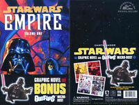 """Star Wars """"EMPIRE"""" TPB w/ Darth Vader Bust. New and Sealed"""