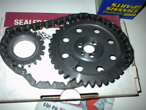 NEW 3PC ALL STEEL TIMING CHAIN SET TO FIT BB CHEV 396-454 20.00
