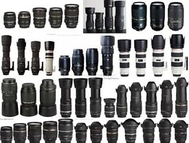 CANON EF FIT KIT LENSES AND MORE!!
