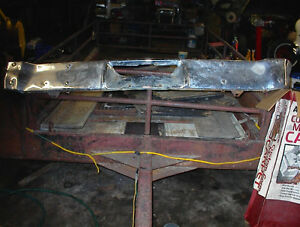 NICE USED REAR BUMPER FROM AN EARLY NOVA 1966S? $60 OBO