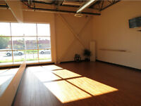 Yoga Studio Room for Rent for Trainings and Workshops!