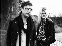 2 x tickets for The Kills, Anson Rooms, Bristol on 05/10/16