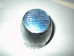 1 ONLY CRAGAR CHROME SST CAP WITH BLUE LOGO $10.00