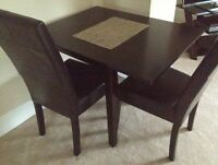 Apartment size table for 2