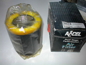 NEW ACCEL #71113 POWER AIR FILTER TO FIT 85-UP CAMEROS,F/BIRDS E