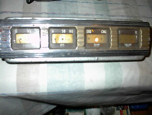 USED 46-48 FORD,MERC.4 GUAGE ORIGINAL DASH SET $40.00