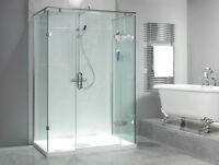 Installation de portes de douche / Shower doors installations