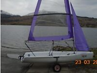 Topper Topaz Uno Race Plus As New Sailing Dinghy