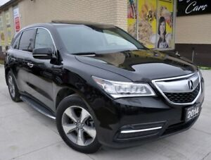 2014 Acura MDX Clean Carfax Sunroof Leather Navigation Back-up C