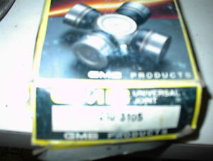 NEW GMG 210-3105 UJOINT FOR CHEV P/US,FORDS,GM CARS $10.00