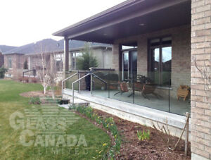 Glass Railings: Exterior and Interior