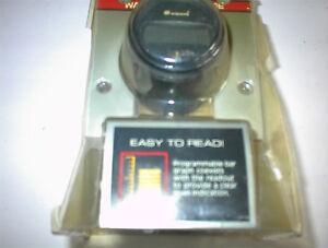 NEW 12 VOLT DIGITAL ELECTRIC TEMP GUAGE WITH SENDER $15.