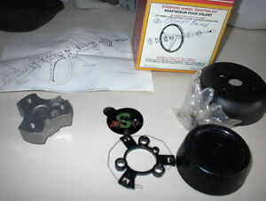 NEW CHEVY VEGA CUSTOM STEERING WHEEL INSTALL.KIT $25.00