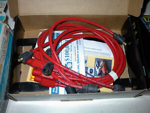 NEW TAYLOR SPIROPRO RED WIRE SET TO FIT DAKOTA V6 MOTORS $25