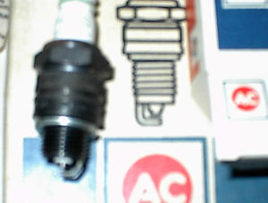 NEW MADE IN ENGLAND OEM ACR44 AND AC R45S SPARK PLUGS 8 PAKS