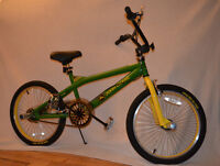 Collectable John Deer freestyle bike