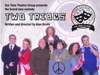 New Comedy Two Tribes by Our Time Theatre Group