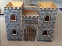 Melissa & Doug wooden castle