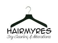 Dry cleaning pressing assistant