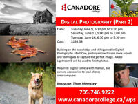 Canadore College - Digital Photography  - Part 2