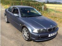 "2001 BMW 325Ci Auto Coupe in Blue with 19"" M3 Alloys Swap/px plus cash"