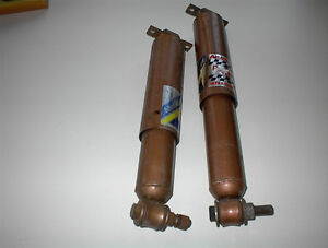 2 NEW HD REAR GM SHOCKS 68-72 NOVA,64-67 GTO,TEMPEST ETC $10E