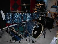 Drum Kit (Pearl EXR Series, Prism Blue)