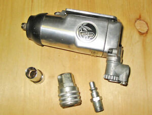 "FLORIDA PNEUMATIC 3/8"" SQUARE DRIVE BUTTERFLY IMPACT WRENCH!"