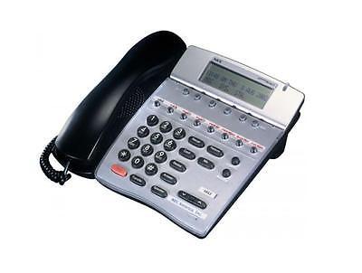 Lot Of 5 Refurbished Nec Itr 8d-2 8-button Speaker Display Ip Phone Black